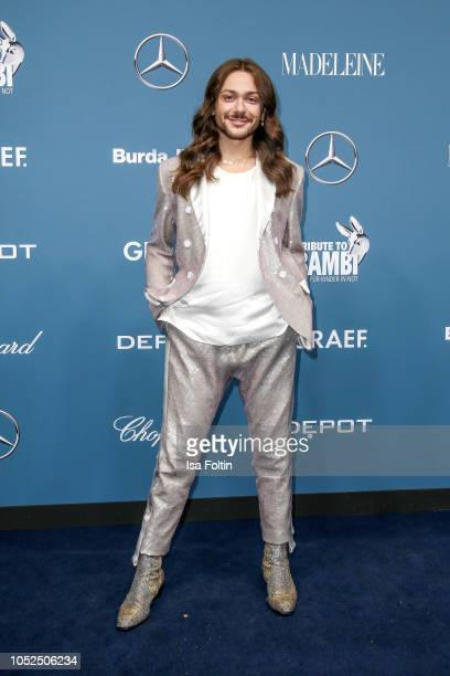 Influencer Riccardo Simonetti during the Tribute To Bambi at Kraftwerk Mitte on October 18 2018 in Berlin Germany