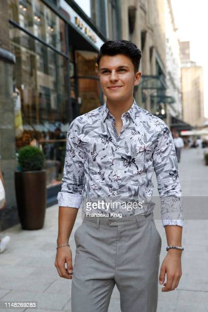 Influencer Richard Sucker during the Ted Baker store opening event on June 5 2019 in Hamburg Germany