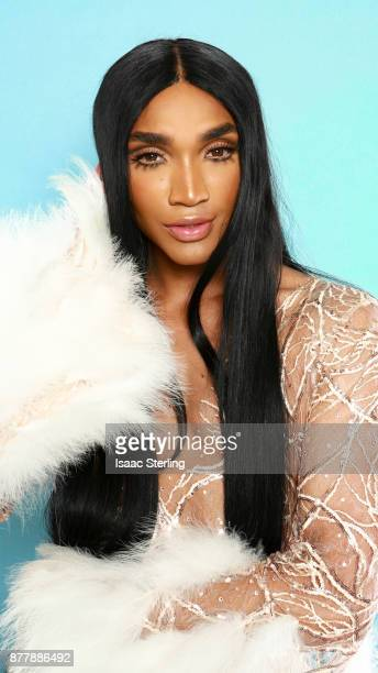 Influencer Tokyo Stylez poses for portrait at the American Influencer Awards at LA Live on November 18 2017 in Los Angeles California