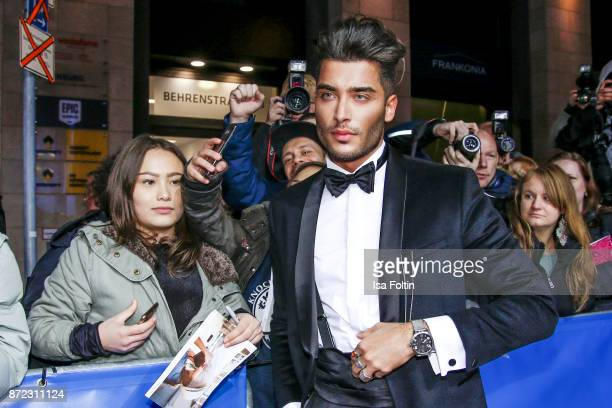 Influencer Toni Mahfud arrives for the GQ Men of the year Award 2017 at Komische Oper on November 9 2017 in Berlin Germany