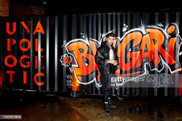 Influencer Toni Mahfud at the Unapologetic Night by BVLGARI x Constantin Film at BVLGARI CLVB on February 23 2020 in Berlin Germany