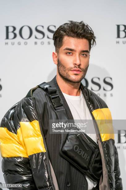 Influencer Toni Mahfud the HUGO BOSS Outlet opening at OutletCity on September 26 2019 in Metzingen Germany