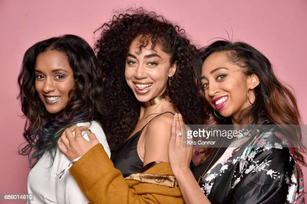 Influencers Lauren Morrison Shan Boody Boodram and Alanna Panday attend Beautycon Festival NYC 2017 Portraits at Brooklyn Cruise Terminal on May 20...