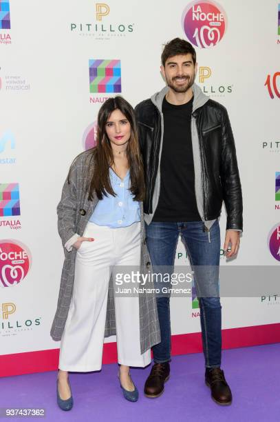 Influencers Paula Love and Fran Guzman attend 'La Noche De Cadena 100' charity concert at WiZink Center on March 24 2018 in Madrid Spain