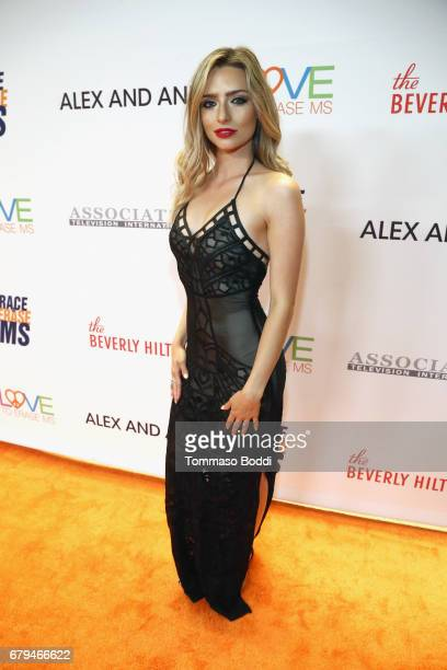 Influencer/singer Kirsten Collins attends the 24th Annual Race To Erase MS Gala at The Beverly Hilton Hotel on May 5 2017 in Beverly Hills California