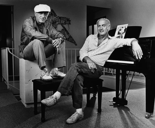 Songwriters Jerry Leiber & Mike Stoller Portrait Session Wall Art
