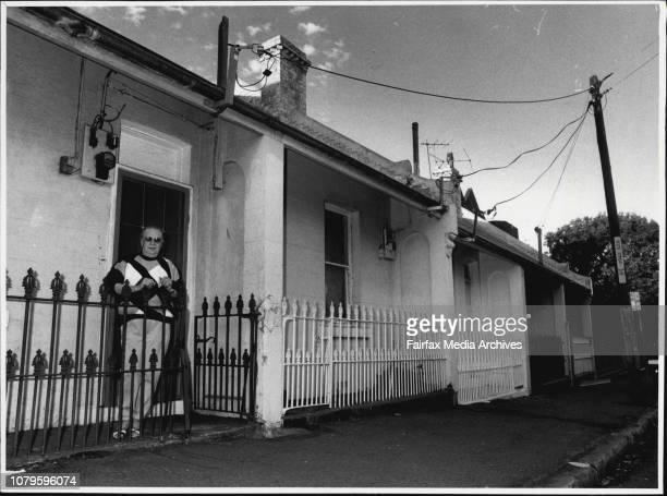 Influx of Yuppies to Erskinville is forcing prices Up & pushing traditional residents out.Laurel Howard outside her house in Erskinville. July...