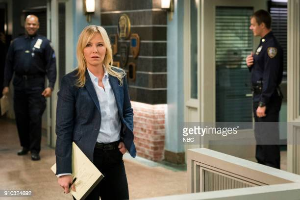 UNIT 'Info Wars' Episode 1912 Pictured Kelli Giddish as Detective Amanda Rollins