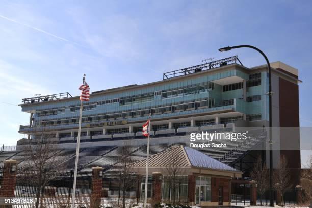 infocision stadium, university of akron campus, akron, ohio, usa - quaker oats stock pictures, royalty-free photos & images