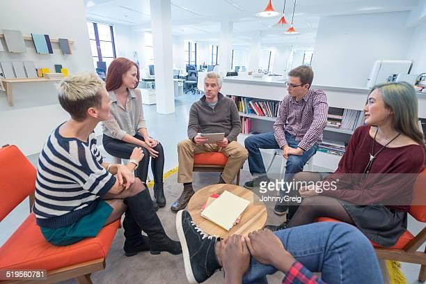 Reunión Informal de negocios