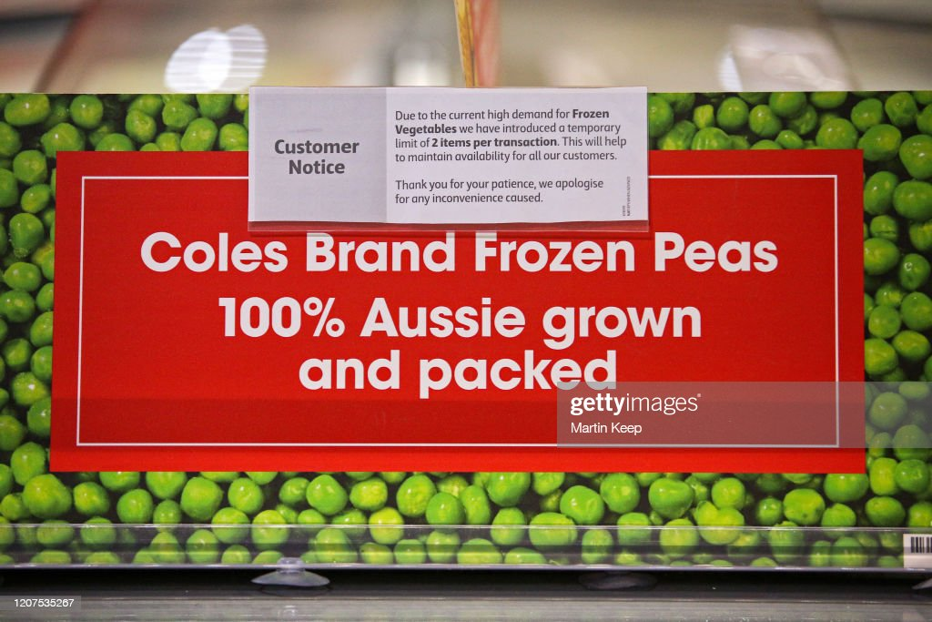 Information About Shopping Limits During The First Coles Community News Photo Getty Images