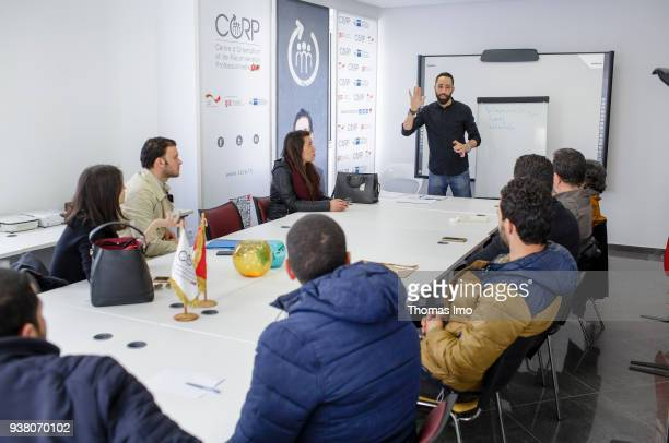 Information event in the center for vocational orientation placement and retraining CORP on January 01 2000 in TUNIS TUNISIA