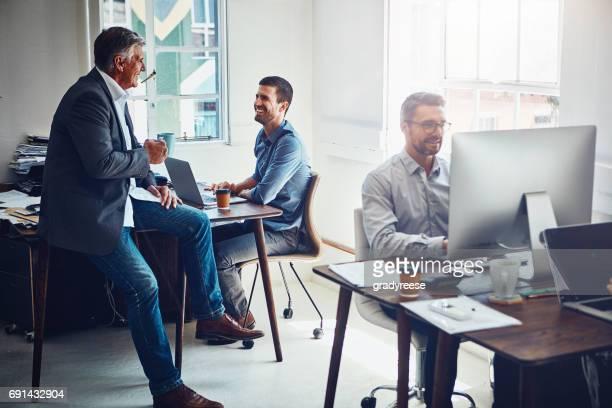 Informationsflöden mer fritt tack vare deras öppet kontorslandskap
