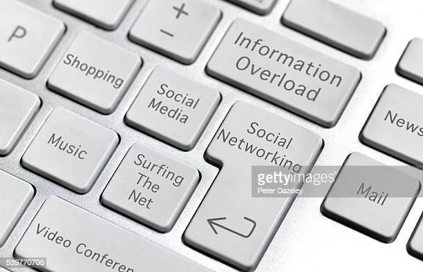 Information overload keyboard