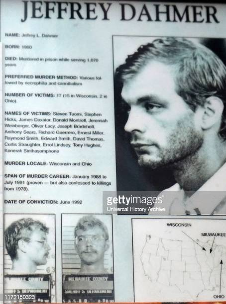 Information sheet about Jeffrey Dahmer Jeffrey Lionel Dahmer an American serial killer and sex offender who was convicted of the rape murder and...
