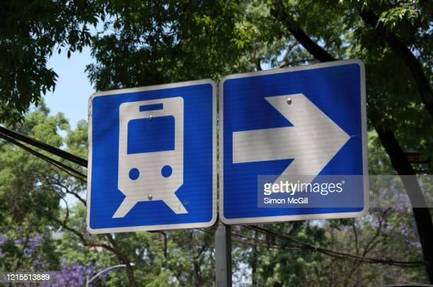 information sign showing the way to a mexico city metro station - underground sign stock pictures, royalty-free photos & images