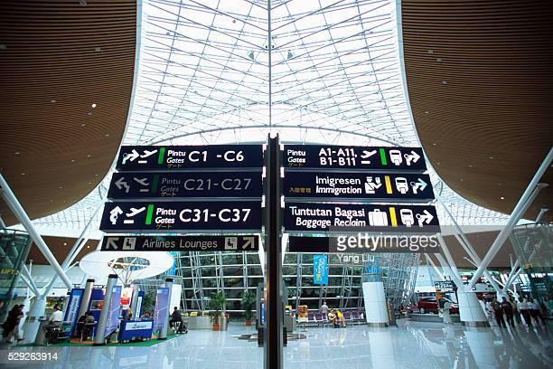 Information Signs at Kuala Lumpur International