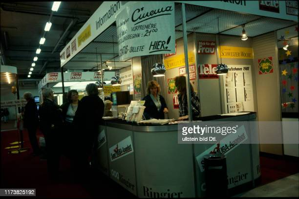 Information stand of Ringier MUBA 1988