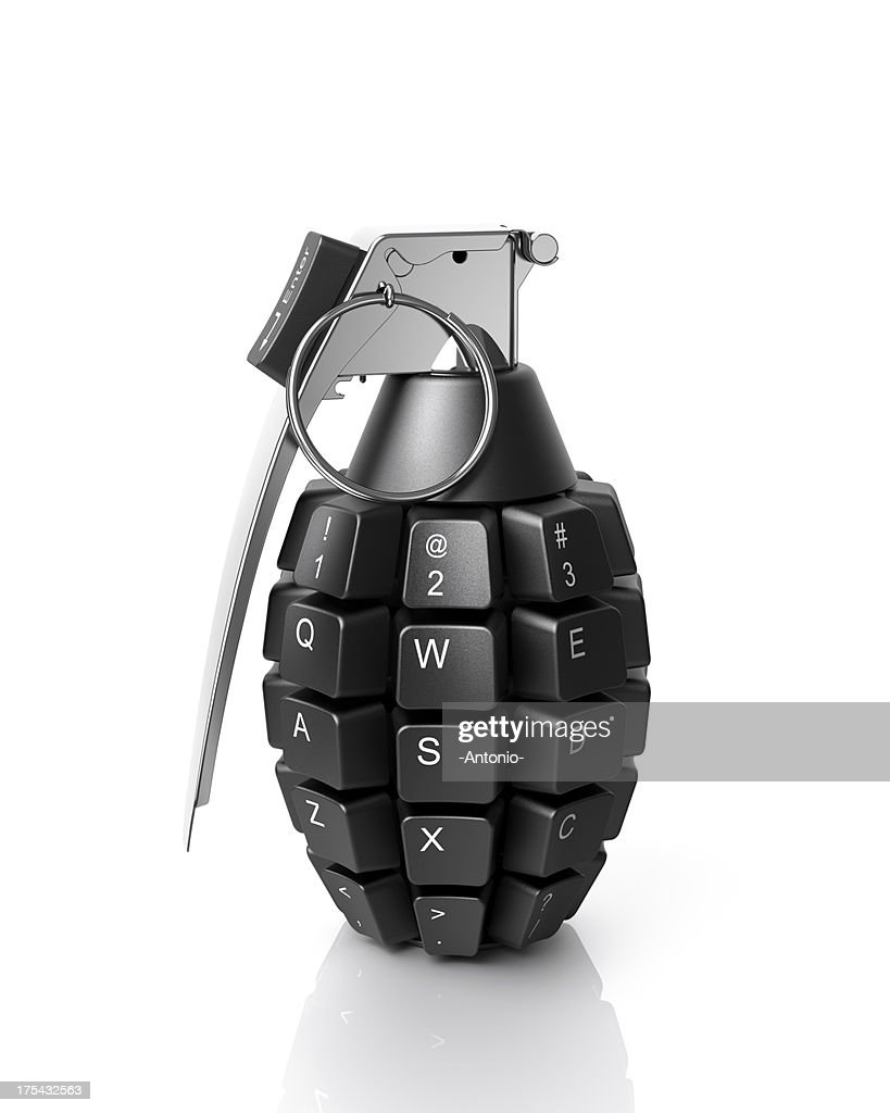 Information weapon : Stock Photo