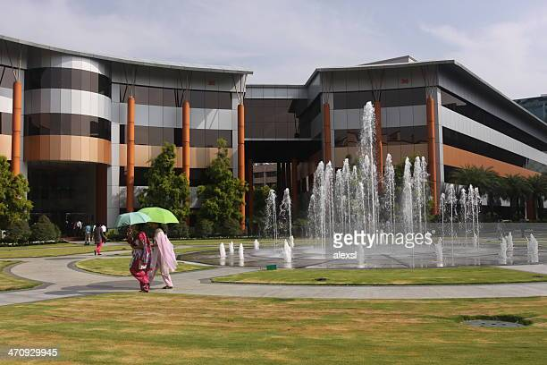 infosys headquarters in bangalore, india - bangalore stock pictures, royalty-free photos & images