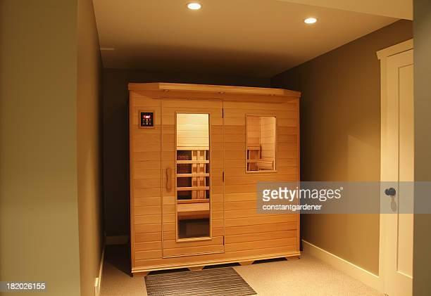 Infra Red Sauna Inside Home