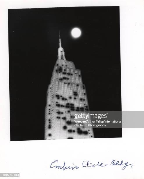 Infrared view of the Empire State Building twentieth century Photo by Weegee /International Center of Photography/Getty Images