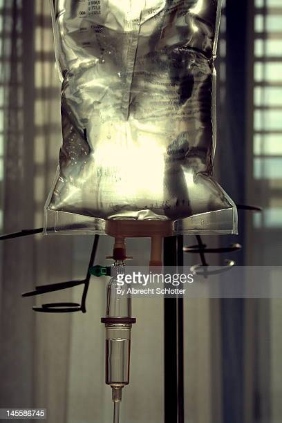 infusion bag - albrecht schlotter stock photos and pictures