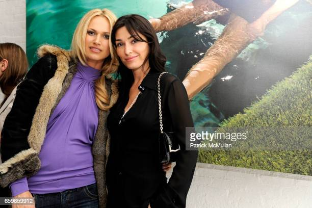 Inga and Dara Tomanovich attend BRIAN ATWOOD and BYRDIE BELL Host ROLE PLAY RENE at 201 Mulberry St on March 19 2009 in New York City