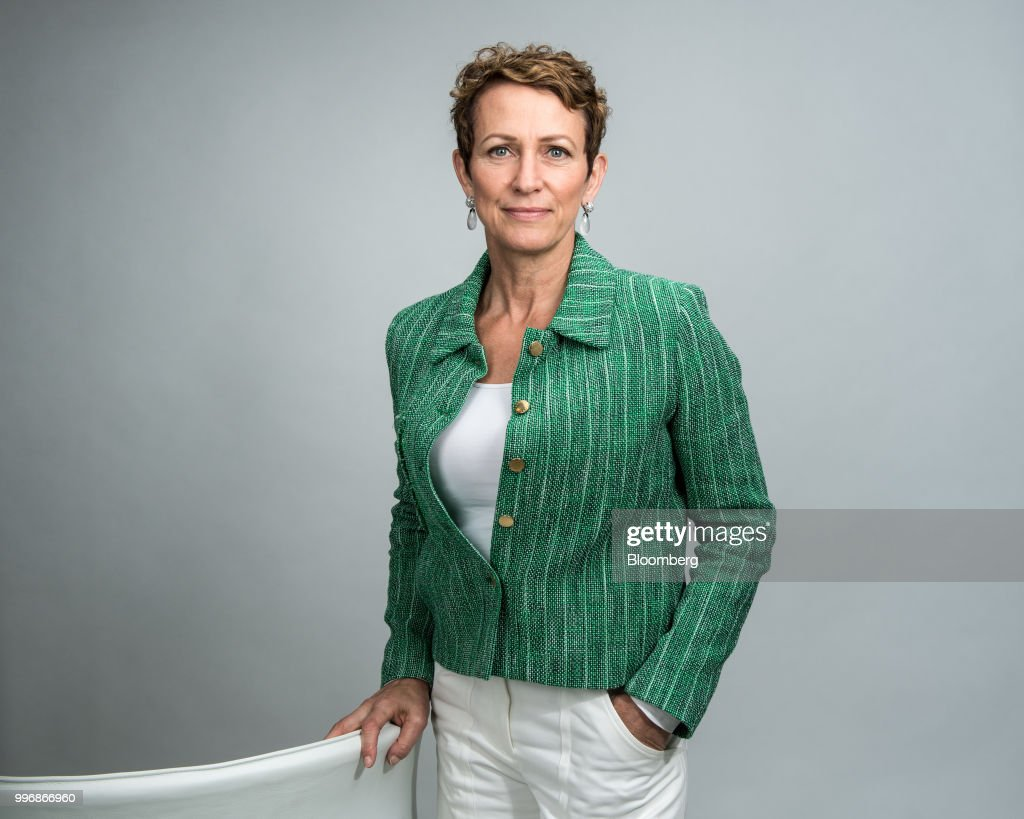Inga Beale, chief executive officer of Lloyds of London, poses for a photograph following a Bloomberg Television interview in London, U.K., on Wednesday, July 11, 2018.Bealesaid she wants to seek a leadership role in at least one more company after leaving the insurance market next year. Photographer: Chris J. Ratcliffe/Bloomberg via Getty Images