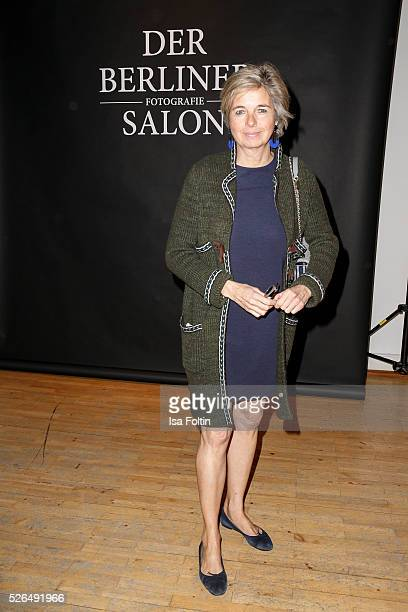 Inga Griese-Schwenkow at 'Der Berliner Fotografie Salon Edition 1' on April 29, 2016 in Berlin, Germany.