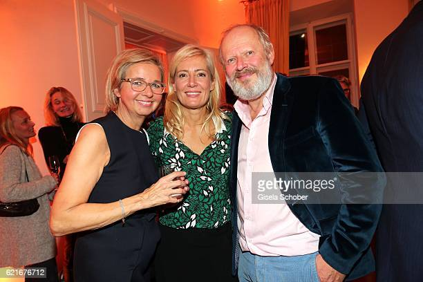 Inga GrieseSchwenkow Judith Milberg and her husband Axel Milberg during the birthday party for the 10th anniversary of ICON at Nymphenburg Palais No...