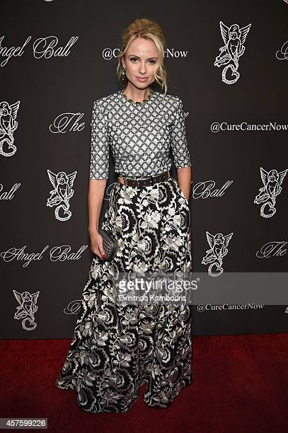 Inga Kozel attends Angel Ball 2014 hosted by Gabrielle's Angel Foundation at Cipriani Wall Street on October 20 2014 in New York City