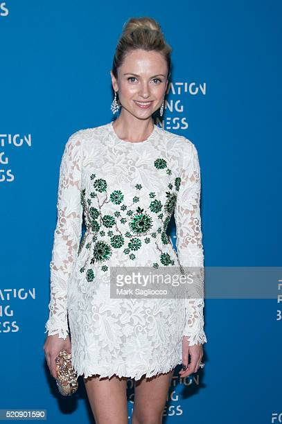 Inga Kozel attends the 2016 Foundation Fighting Blindness World Gala at Cipriani Downtown on April 12 2016 in New York City
