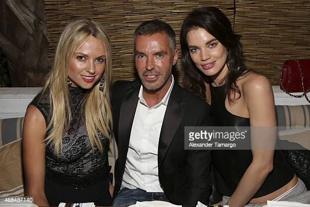 Inga Kozel DSQUARED2 designer Dan Caten and model Rianne ten Haken attend a dinner hosted by DSQUARED2 designers Dean and Dan Caten to celebrate the...