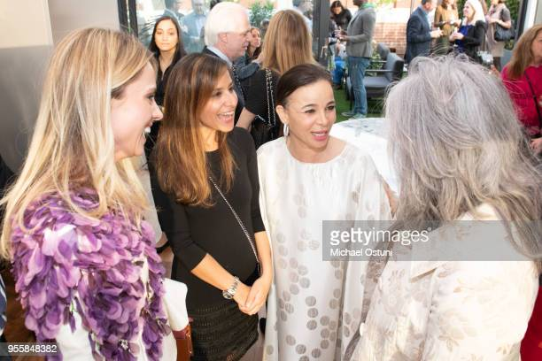 Inga Kozel Fiona Gupta and Fiona Cibani attends Grimanesa Amoros Cover Celebration On A Women's Thing Magazine on May 7 2018 in New York City