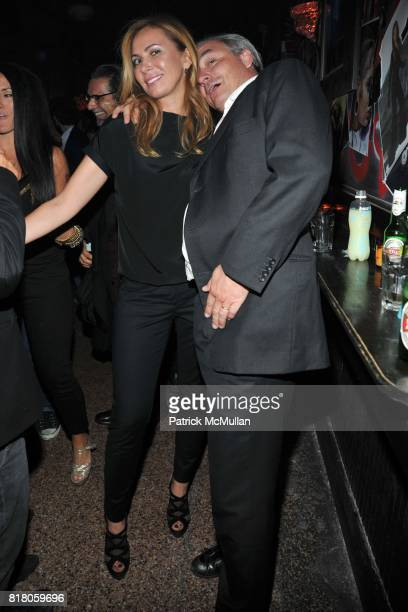 Inga Rubenstein and attend DASHA ZHUKOVA Party to Celebrate POP with Performance by IGGY POP presented by DeLeon Tequila's Nur Khan Sessions at Don...