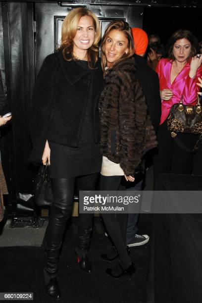 Inga Rubenstein and Dori Cooperman attend LOUIS VUITTON Tribute to STEPHEN SPROUSE After Party at Bowery Ballroom on January 8 2009 in New York City