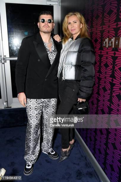 Inga Rubenstein and Eli Mizrahi attend the MDL Beast Festival on December 19 2019 in Riyadh Saudi Arabia