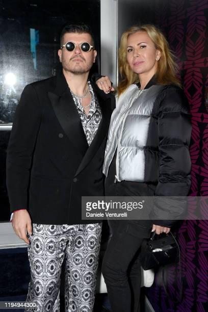 Inga Rubenstein and Eli Mizrahi attends the MDL Beast Festival on December 19 2019 in Riyadh Saudi Arabia