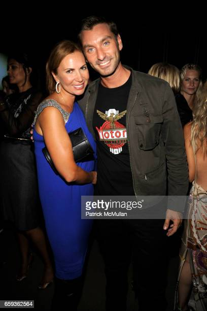 Inga Rubenstein and Federico Galeotti attend BING hosts a celebration of THE RACHEL ZOE PROJECT at The Standard on September 11 2009 in New York City