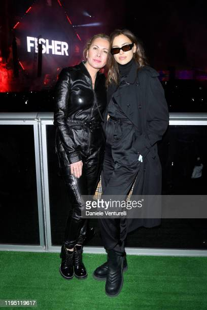 Inga Rubenstein and Irina Shayk attend the MDL Beast Festival on December 20 2019 in Riyadh Saudi Arabia