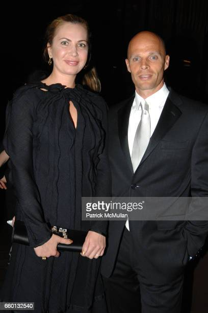 Inga Rubenstein and Keith Rubenstein attend EARTH AWARDS Gala at The Four Seasons on January 12 2009 in New York City
