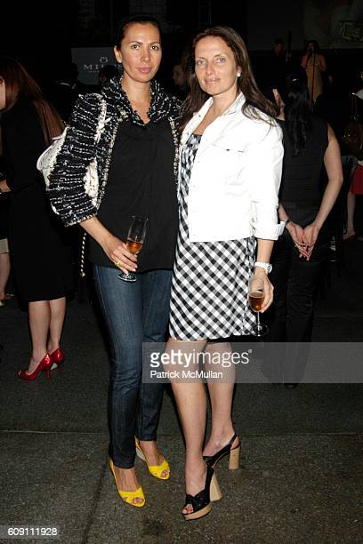 Inga Rubenstein and Yana Balan attend Milus Launch Event at Tourneau TimeMachine on May 10 2007 in New York City