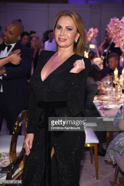 Inga Rubenstein attends Rihanna's 4th Annual Diamond Ball benefitting The Clara Lionel Foundation at Cipriani Wall Street on September 13 2018 in New...