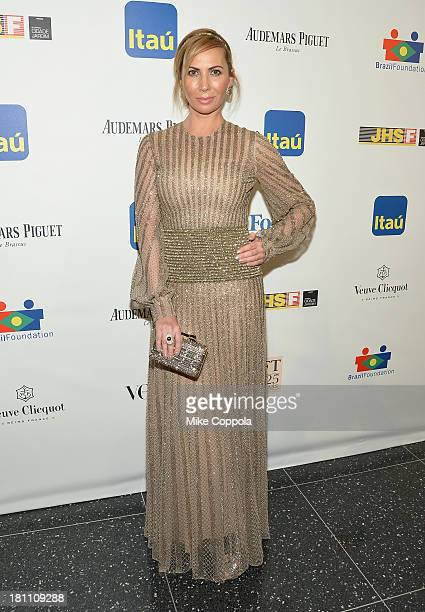 Inga Rubenstein attends the 11th BrazilFoundation NYC Gala at MOMA on September 18 2013 in New York City
