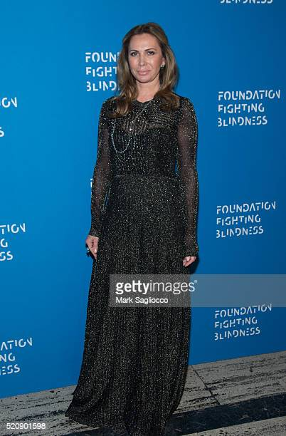 Inga Rubenstein attends the 2016 Foundation Fighting Blindness World Gala at Cipriani Downtown on April 12 2016 in New York City