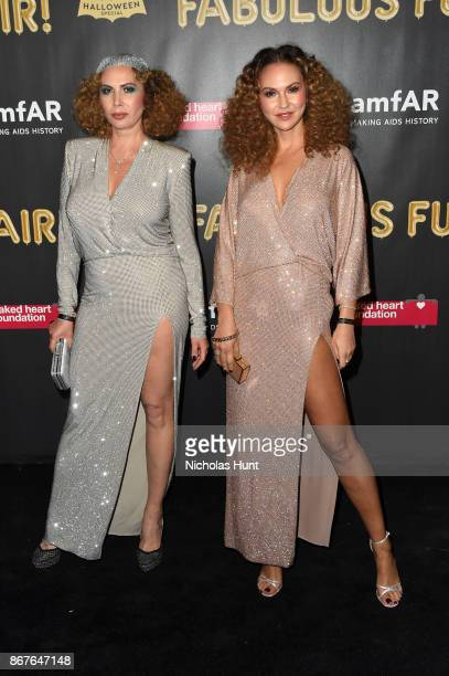 Inga Rubenstein attends the 2017 amfAR The Naked Heart Foundation Fabulous Fund Fair at Skylight Clarkson Sq on October 28 2017 in New York City