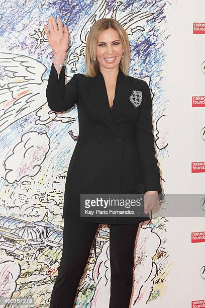 Inga Rubenstein attends the official opening party of the Ilya And Emilia Kabakov Artwork Monumenta 2014 at the Grand Palais on May 13 2014 in Paris...