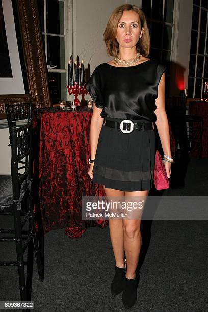 Inga Rubenstein attends Trump Soho Hotel Condominium Launch Party at Tribeca Rooftop on September 19 2007 in New York City