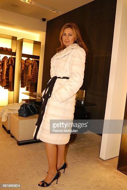 Inga Rubenstein attends Vogue and J Mendel Host an Evening of HAUTE CULTURE at Bergdorf Goodman on November 30 2005 in New York City